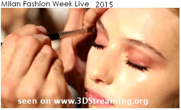 MILAN FASHION WEEK SPRING / SUMMER 2015  2D-Live channel