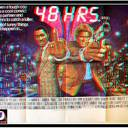 48 HRS ORIGINAL X RATED POSTER IN 3-D