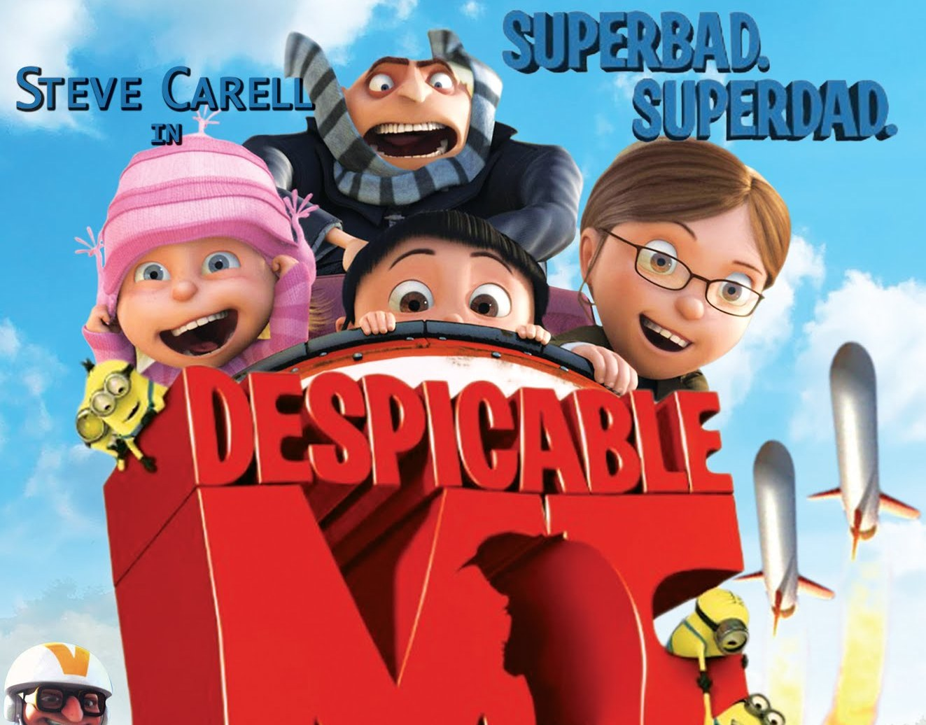Despicable Me 3D SbS Half