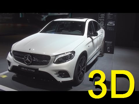 Mercedes-Benz AMG GLC 43 4MATIC Coupé (2017) Exterior and Interior in 3D