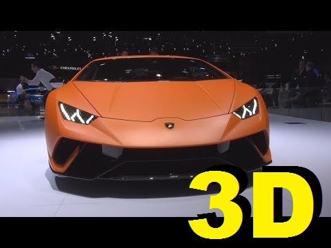 @Lamborghini #Huracán Performante (2017) Exterior and Interior in 3D