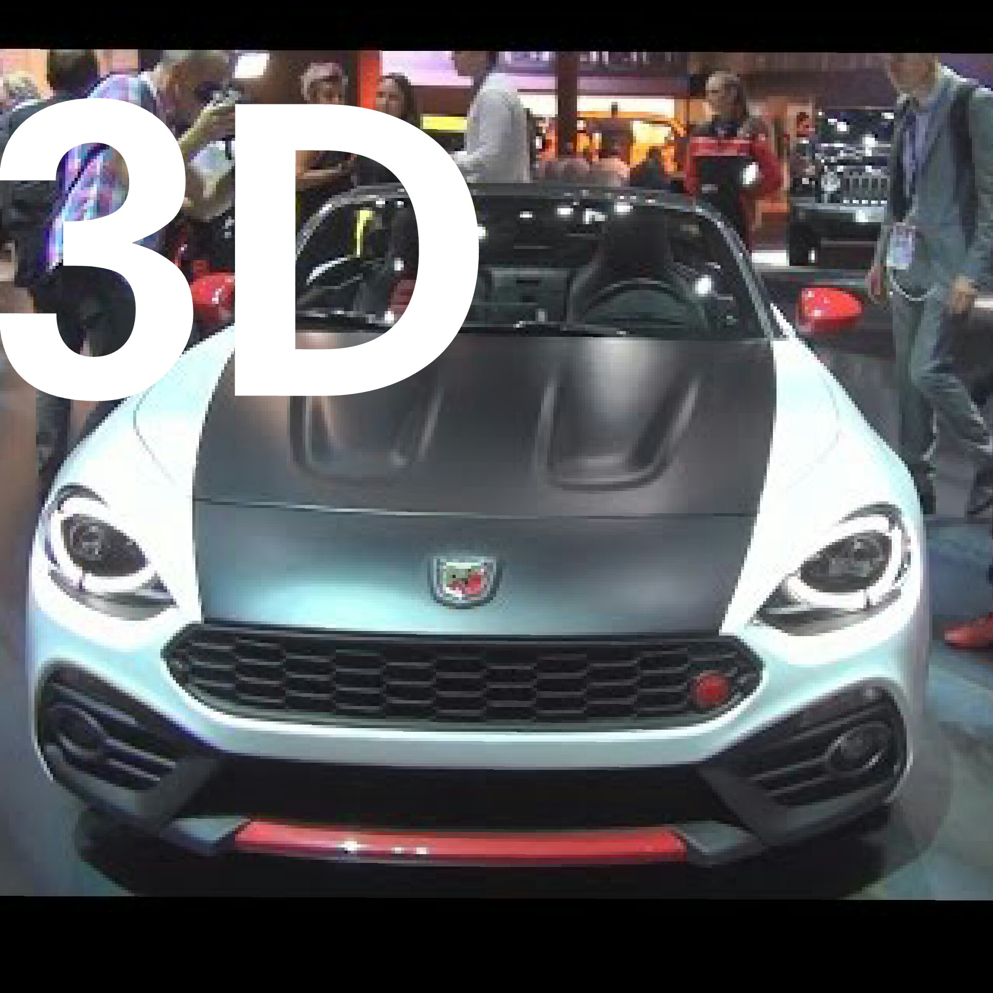 #FiatAbarth Fiat Abarth 124 Spider (2017) Exterior and Interior in 3D