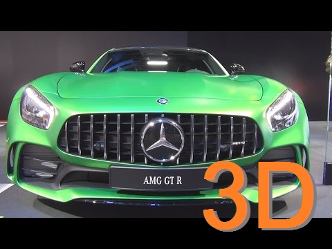 Mercedes-Benz AMG GT R Coupé (2017) Exterior and Interior in 3D
