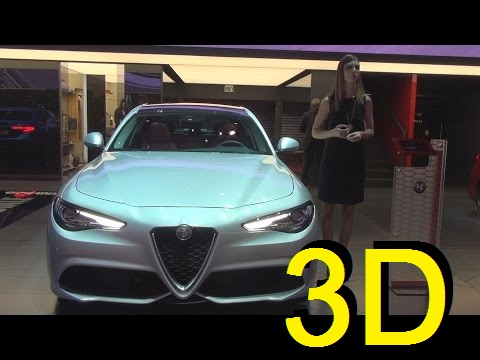 Alfa Romeo Giulia Veloce 2.2 Turbo Diesel 210 hp AWD AT8 (2017) Exterior and Interior in 3D