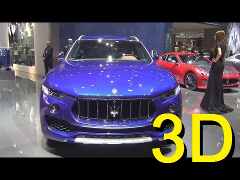 Maserati Levante SQ4 (2017) Exterior and Interior in 3D