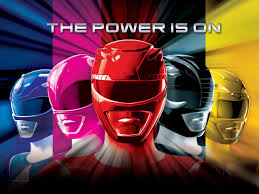 Power Rangers in 3D