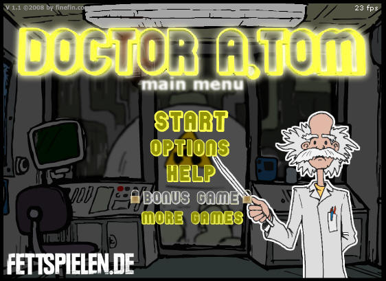 Doctor A.Tom 3D ANAGLYPH online game