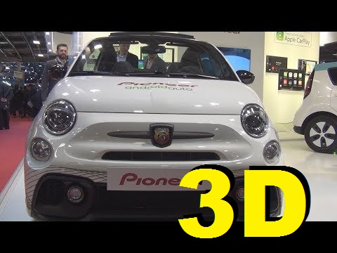 @FCA #Fiat #Abarth 500 Pioneer Audio (2017) Exterior and Interior in 3D