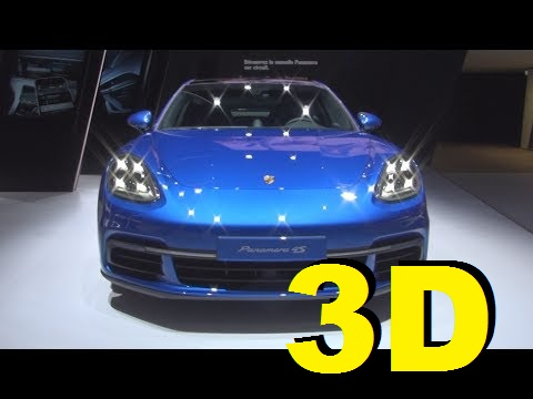 @Porsche Panamera 4S (2017) Exterior and Interior in 3D
