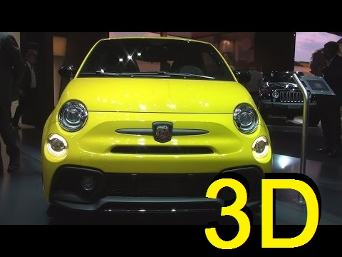 Fiat Abarth 595 Competizione (2017) Exterior and Interior in 3D