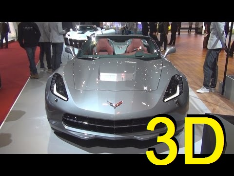 Chevrolet Corvette Convertible (2016) Exterior and Interior in 3D