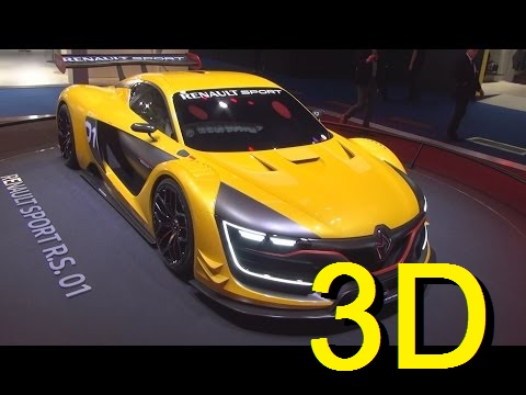 Renault Sport R.S. 01 Exterior and Interior in 3D