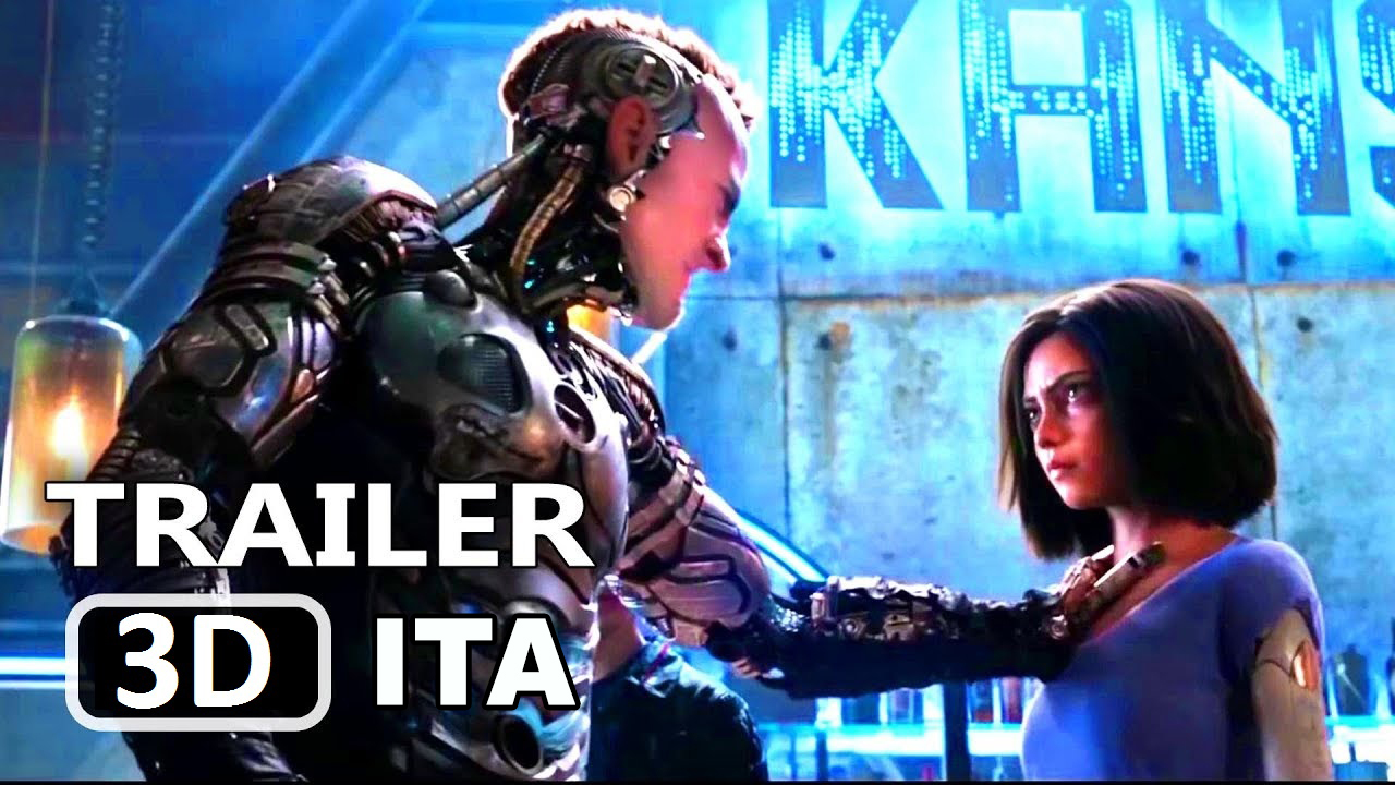 Alita - Angelo della battaglia 3D 2018 Trailer 20th Century FOX
