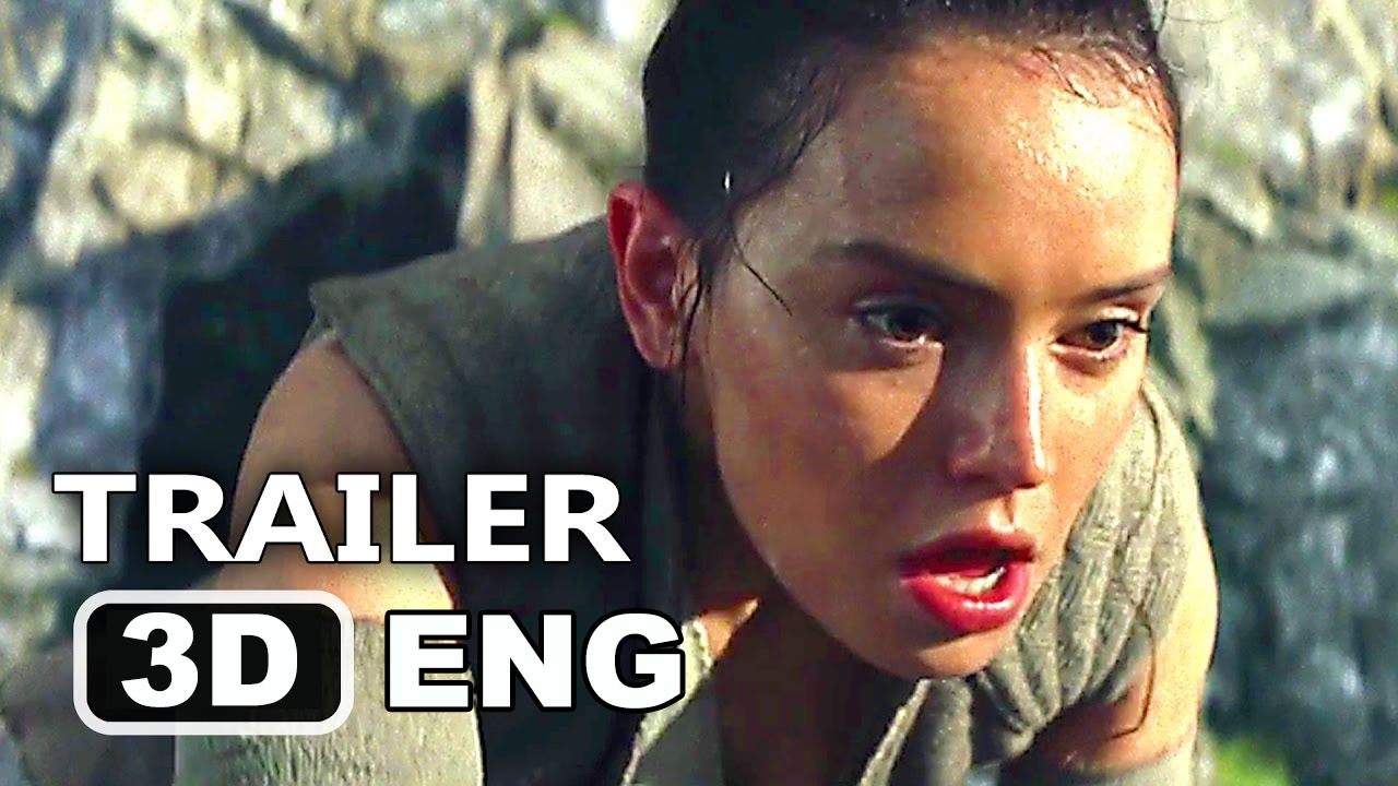 Star Wars The Last Jedi Trailer in 3D 2017 8 VIII