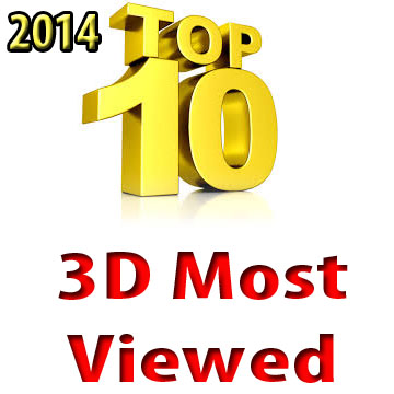 TOP TEN 3D video most viewed